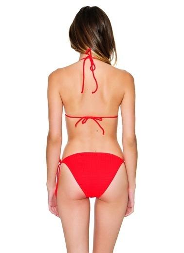 Kom Üçgen Bikini Kırmızı